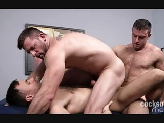 naughty homo studs having wild group sex